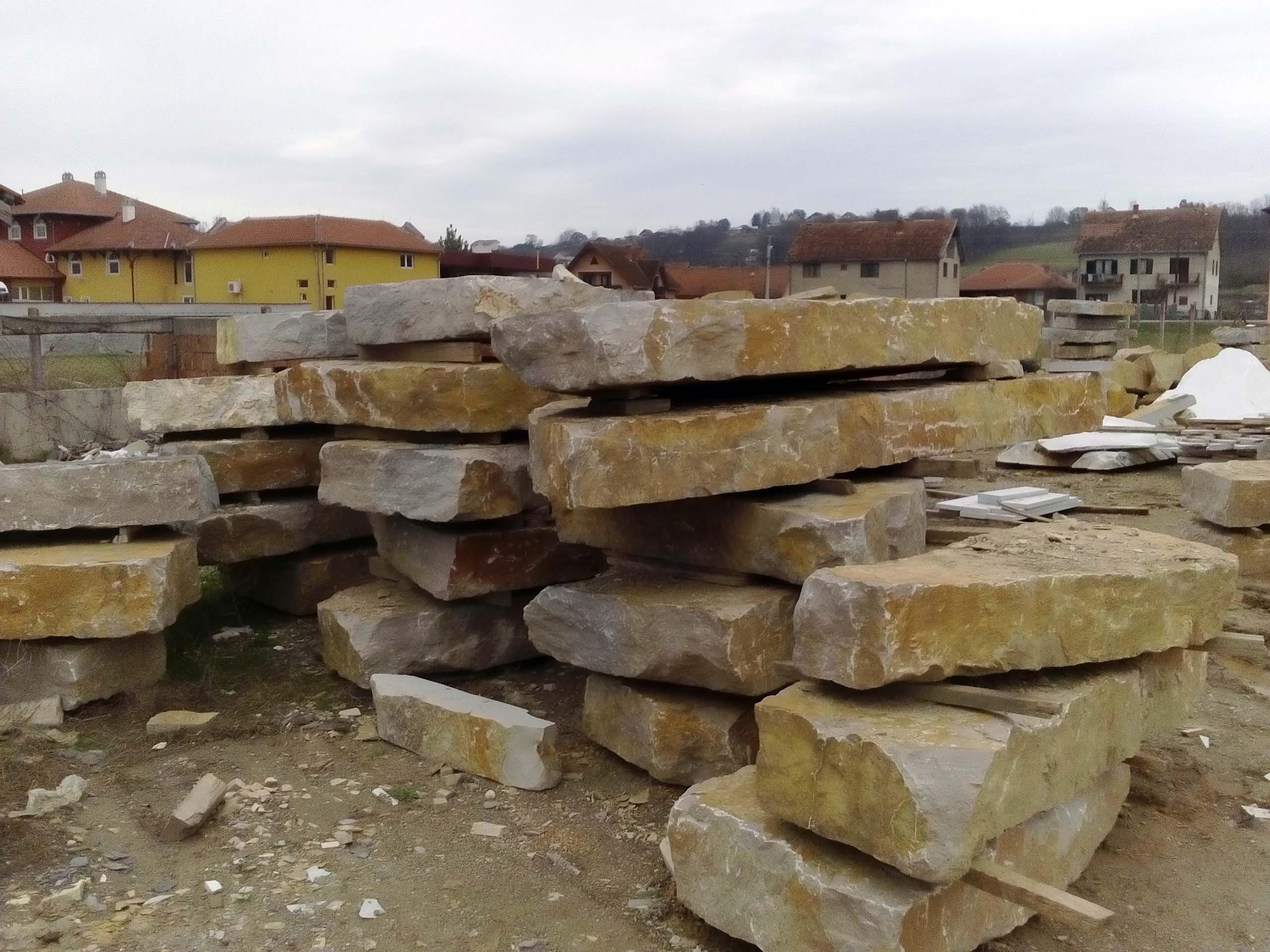 Vrste kamena, gaterisan i štokovan kamen 1